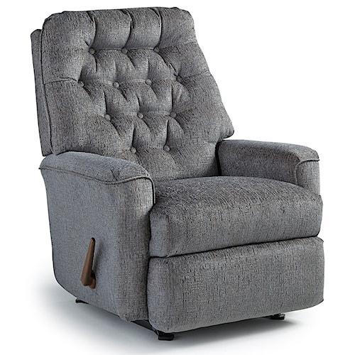 Best Home Furnishings Medium Recliners Mexi Wallhugger Reclining Chair
