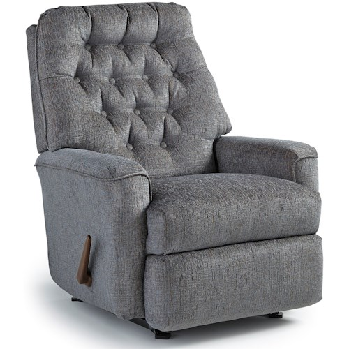 Best Home Furnishings Medium Recliners Mexi Rocking Reclining Chair