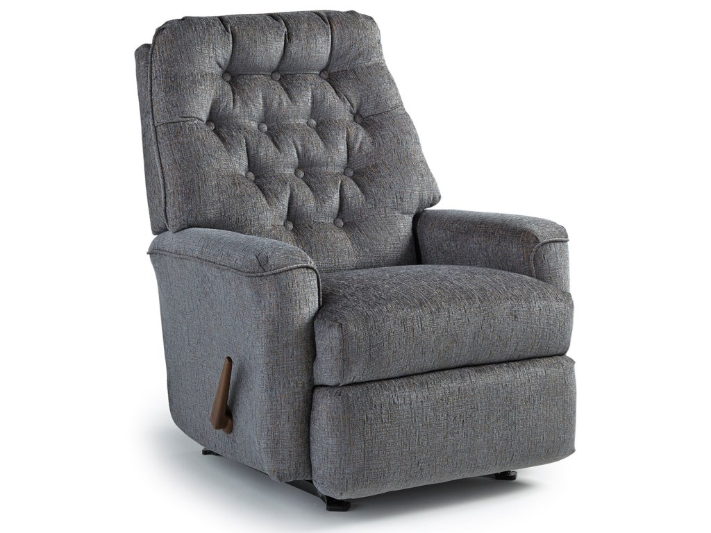 Best Home Furnishings Medium ReclinersMexi Swivel Rocker Recliner