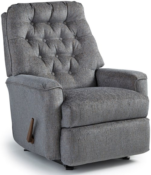 Best Home Furnishings Recliners - Medium Mexi Swivel Rocking Reclining Chair
