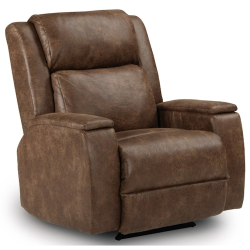 Best Home Furnishings Recliners - Medium Colton Power Lift Recliner with Power Adjustable Headrest