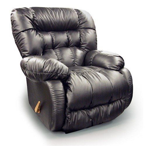 Best Home Furnishings Recliners - Medium Plusher Power Rocking Reclining Chair