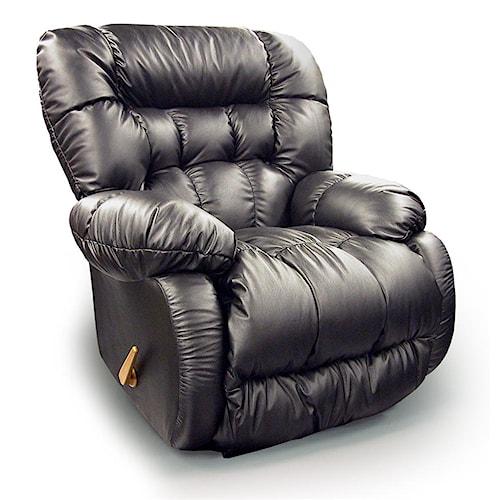 Best Home Furnishings Medium Recliners Plusher Wallhugger Reclining Chair