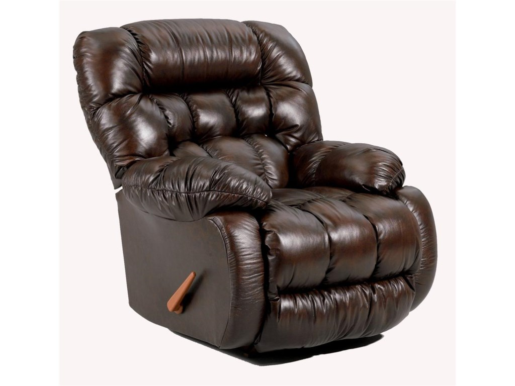Best Home Furnishings Medium ReclinersPlusher Power Rocker Recliner