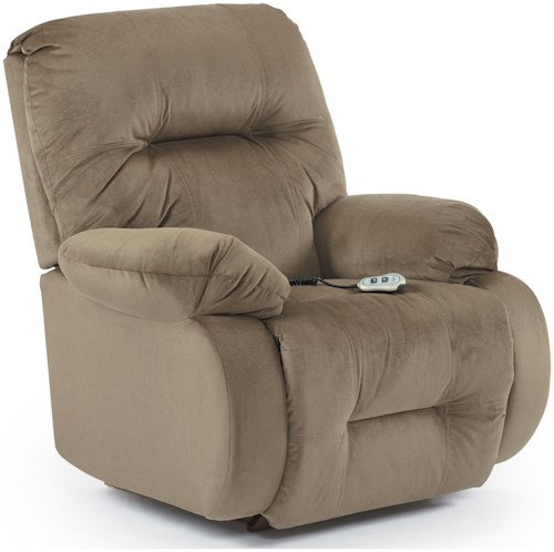 Best Home Furnishings Recliners - Medium Brinley Power Lift Reclining Chair