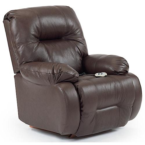 Best Home Furnishings Recliners - Medium Brinley Power Lift Reclining Chair