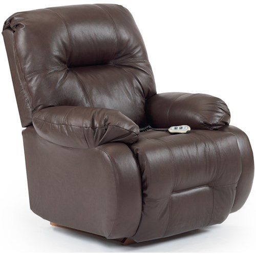 Best Home Furnishings Medium Recliners Power Lift Reclining Chair with Power Tilt Headrest
