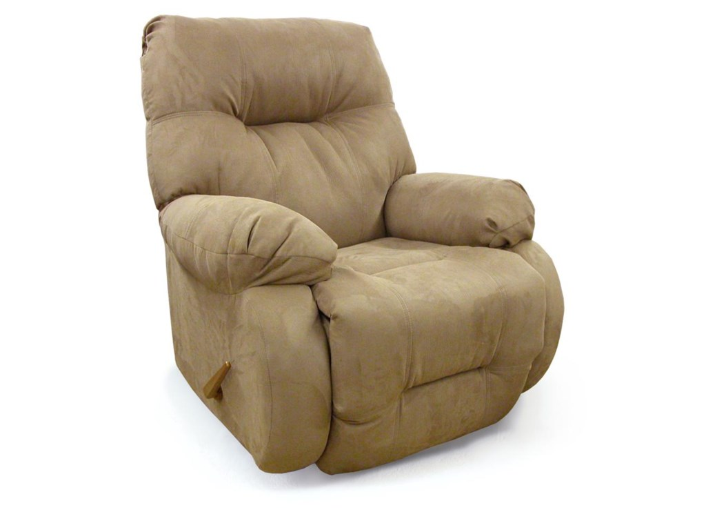 Best Home Furnishings Medium ReclinersSwivel Glide Recliner