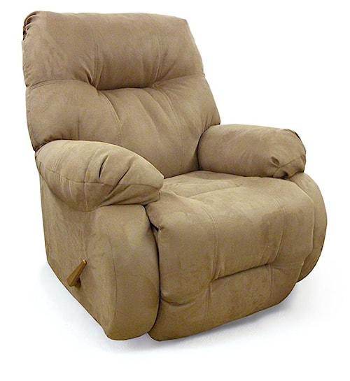 Best Home Furnishings Recliners - Medium Brinley Rocking Reclining Chair