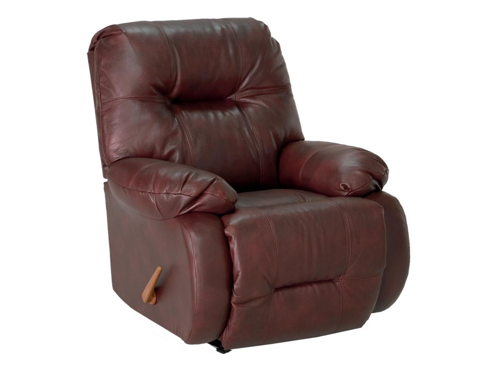 Best Home Furnishings Medium ReclinersPower Swivel Glide Recliner w/ Pwr Headrest