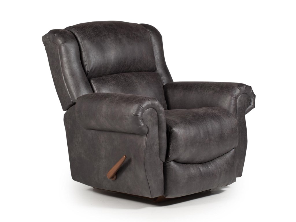 Best Home Furnishings Medium ReclinersTerrill Space Saver Recliner