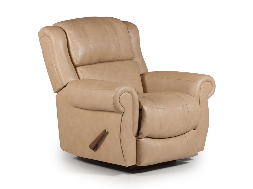 Best Home Furnishings Medium ReclinersTerrill Power Rocker Recliner