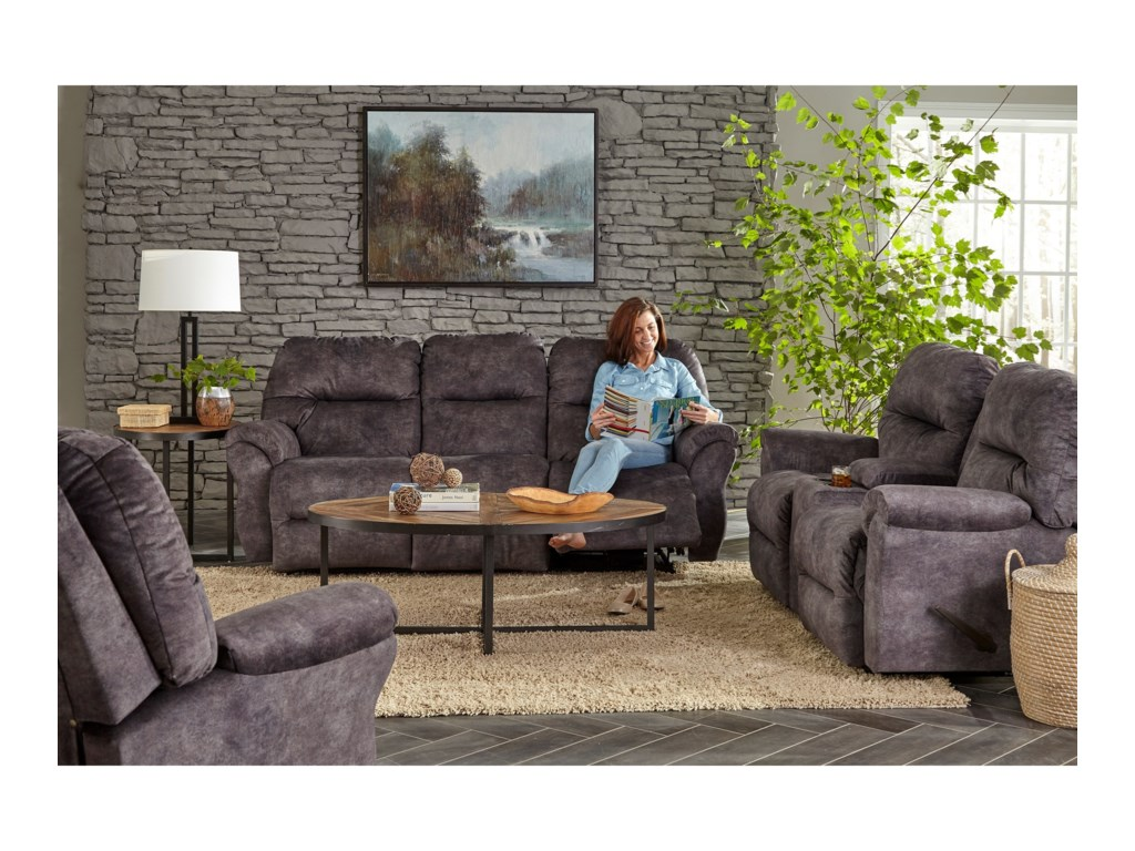 Best Home Furnishings Medium ReclinersBodie Power Wallhugger Recliner