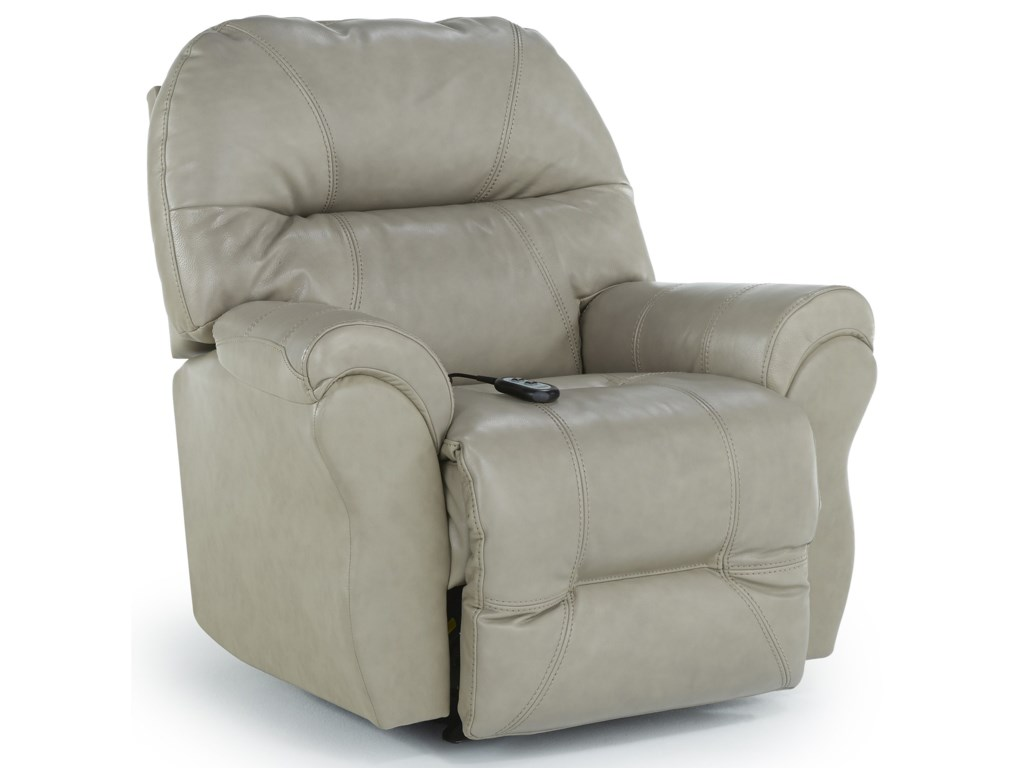 Best Home Furnishings Medium ReclinersBodie Power Swivel Glider Recliner