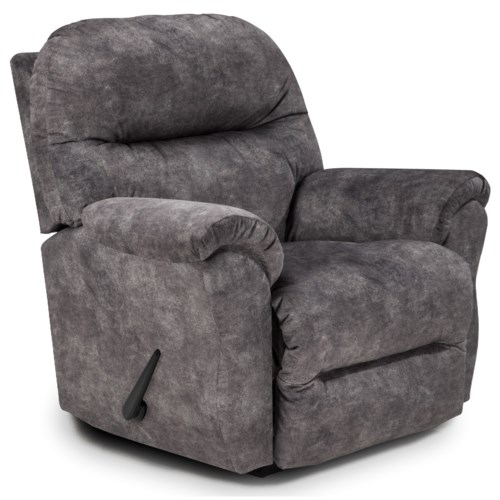 Best home furnishings medium recliners bodie rocking reclining chair