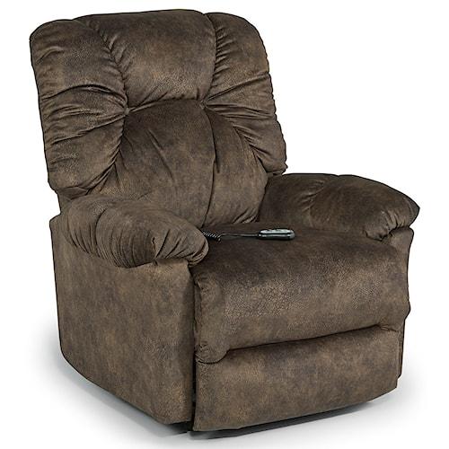 Best Home Furnishings Recliners - Medium Romulus Power Wallhugger Reclining Chair