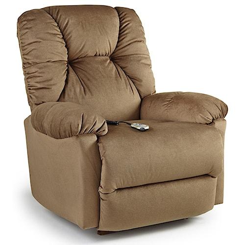 Best Home Furnishings Recliners - Medium Romulus Power Rocking Reclining Chair