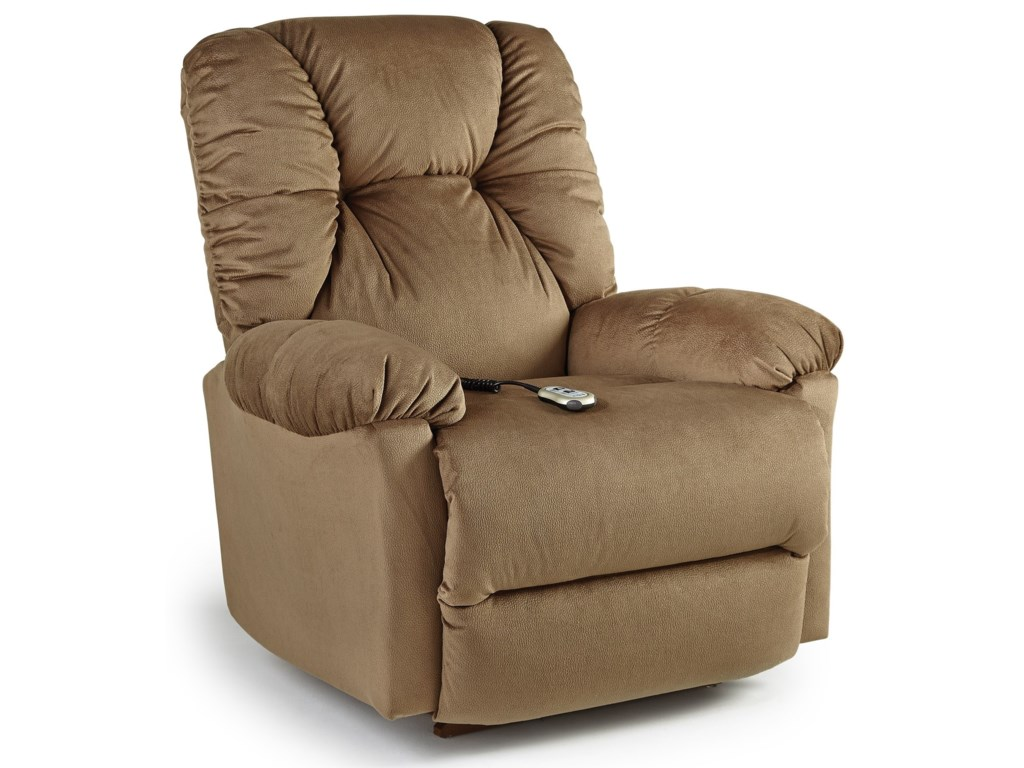 Best Home Furnishings Medium ReclinersPower Rocker Recliner