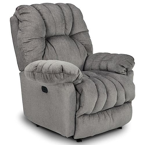 Best Home Furnishings Medium Recliners Conen Power Rocking Reclining Chair