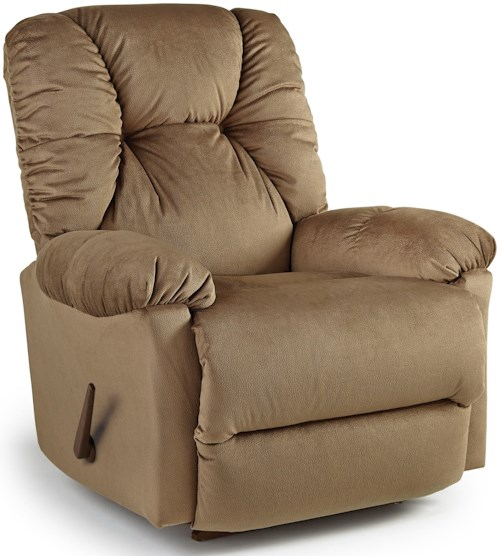 Best Home Furnishings Recliners - Medium Romulus Swivel Rocking Reclining Chair