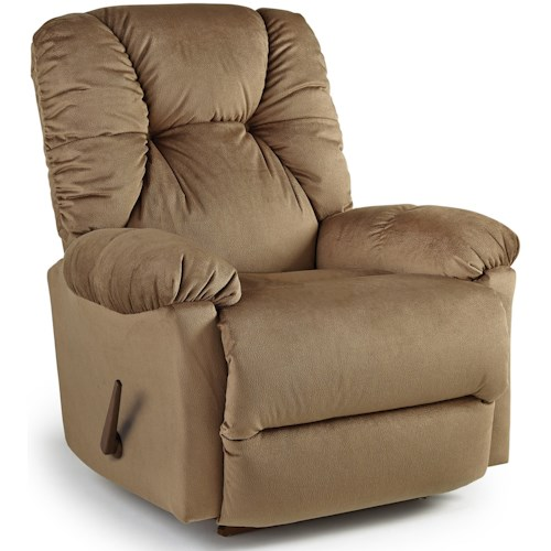 Best Home Furnishings Medium Recliners Swivel Rocking Reclining Chair