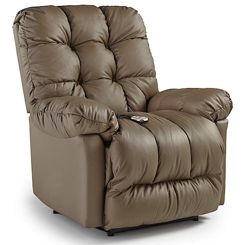 Best Home Furnishings Recliners - Medium Brosmer Power Lift Reclining Chair