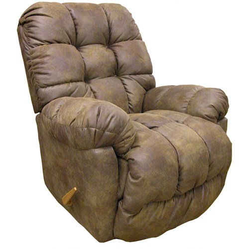 Best Home Furnishings Recliners - Medium Brosmer Rocking Reclining Chair
