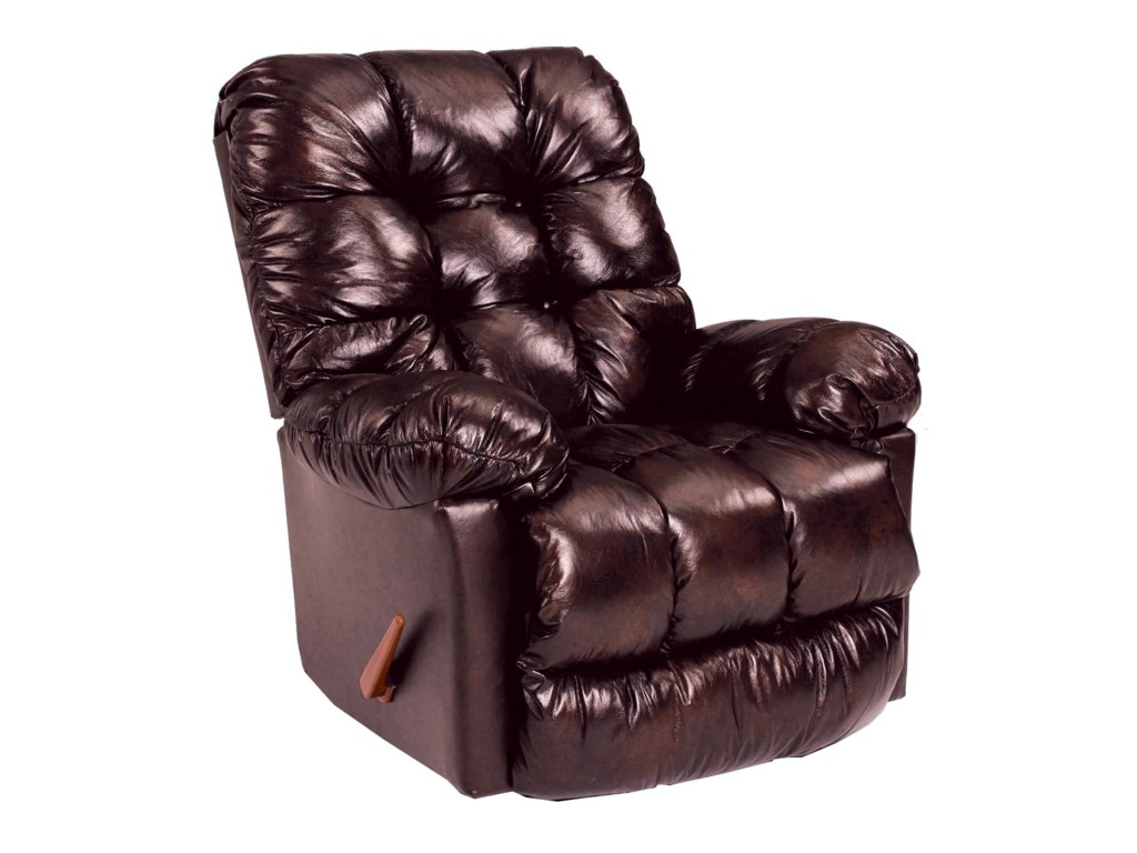 Best Home Furnishings Medium ReclinersBrosmer Power Rocker Recliner