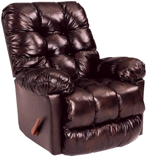 Best Home Furnishings Recliners - Medium Brosmer Power Rocking Reclining Chair
