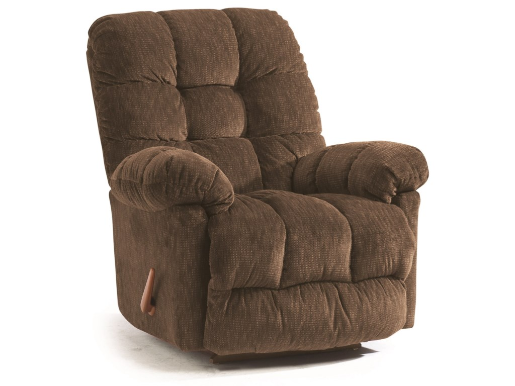 Best Home Furnishings Medium ReclinersBrosmer Swivel Rocker Recliner