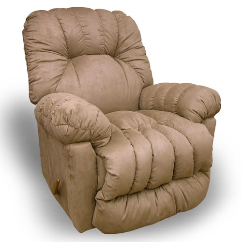 Best Home Furnishings Recliners - Medium Conen Power Rocking Reclining Chair