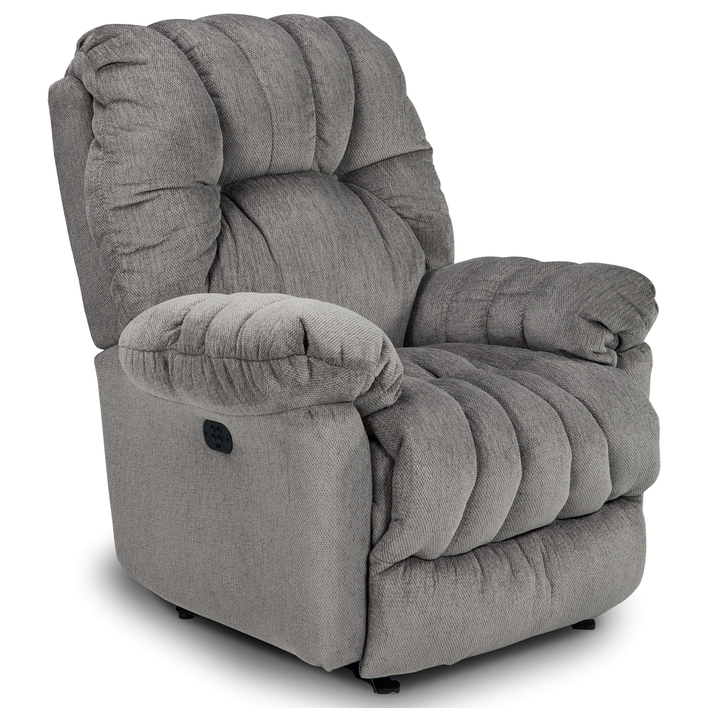 Power Swivel Glider Reclining Chair with Power Headrest and USB Port