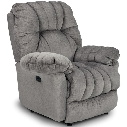 Best Home Furnishings Medium Recliners Conen Swivel Rocking Reclining Chair