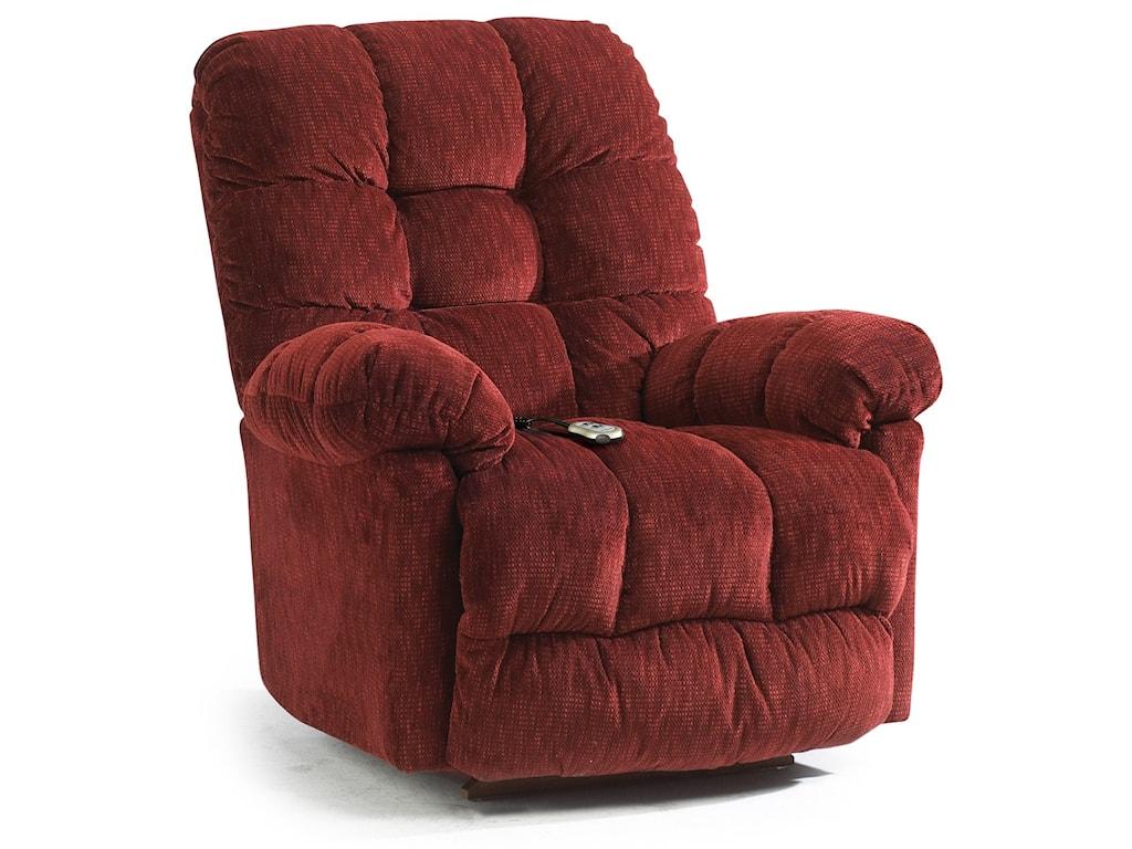 Best Home Furnishings Recliners - MediumBrosmer Swiv Rckr Recliner w/ Massage & Heat