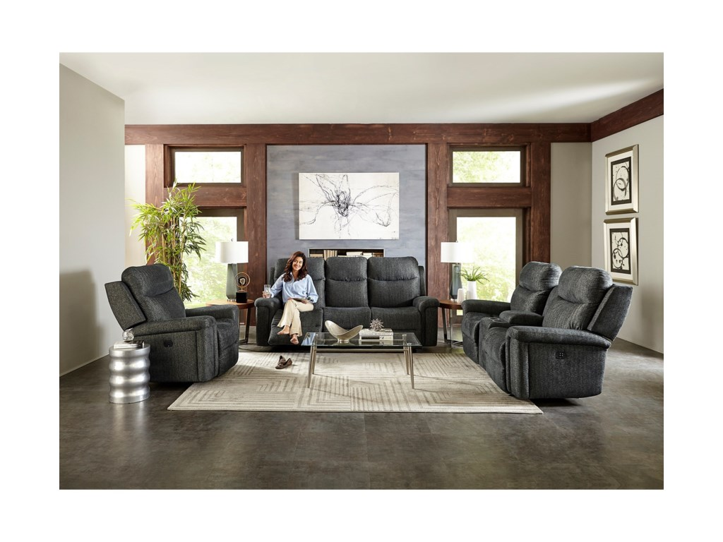Best Home Furnishings OptimaPower Tilt Headrest Rocker Recliner