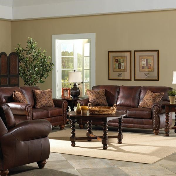 Shown in Room Setting With Coordinating Loveseat and Chair