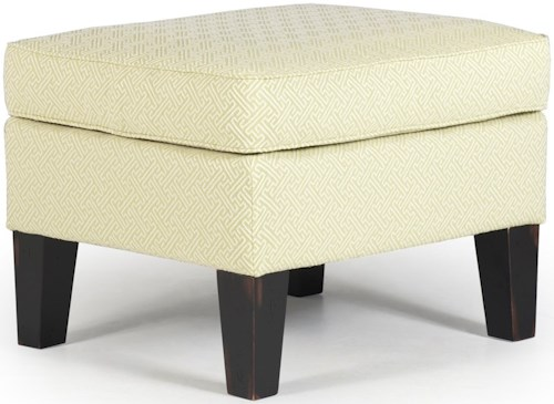 Best Home Furnishings Ottomans Ottoman with Tall Tapered Legs