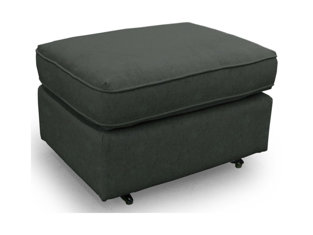 Best Home Furnishings OttomansRounded Casual Ottoman