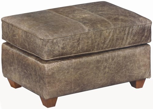 Best Home Furnishings Ottomans Soft Contemporary Rectangular Ottoman