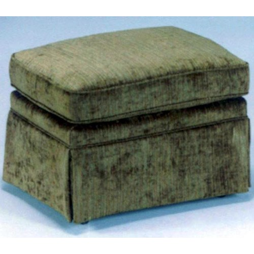 Best Home Furnishings Ottomans Traditional Rectangular Ottoman