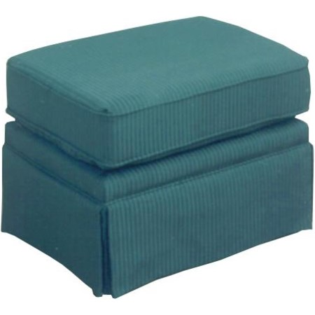 Ottoman without Welt  Cord Trim