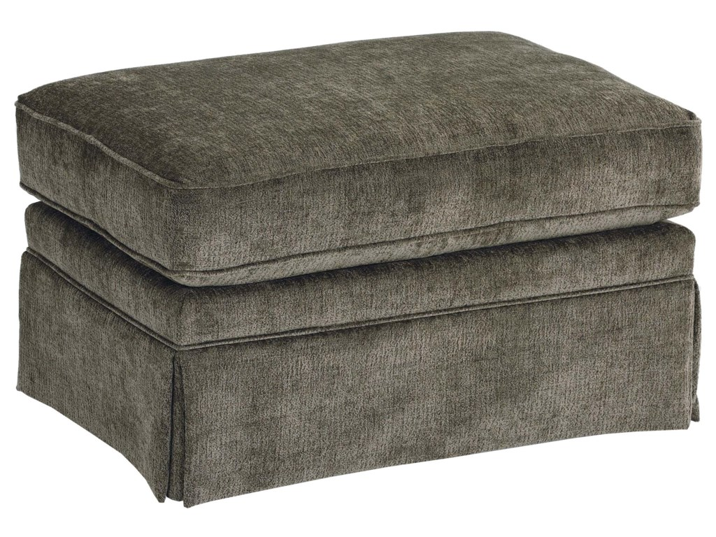 Best Home Furnishings OttomansOttoman without Welt  Cord Trim