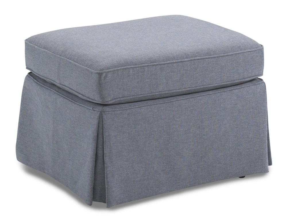 Best Home Furnishings OttomansSkirted Ottoman