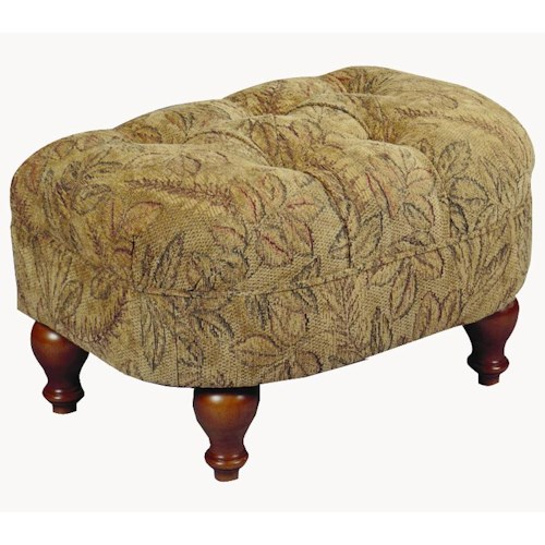 Best Home Furnishings Ottomans Plush Rectangular Cushioned Ottoman