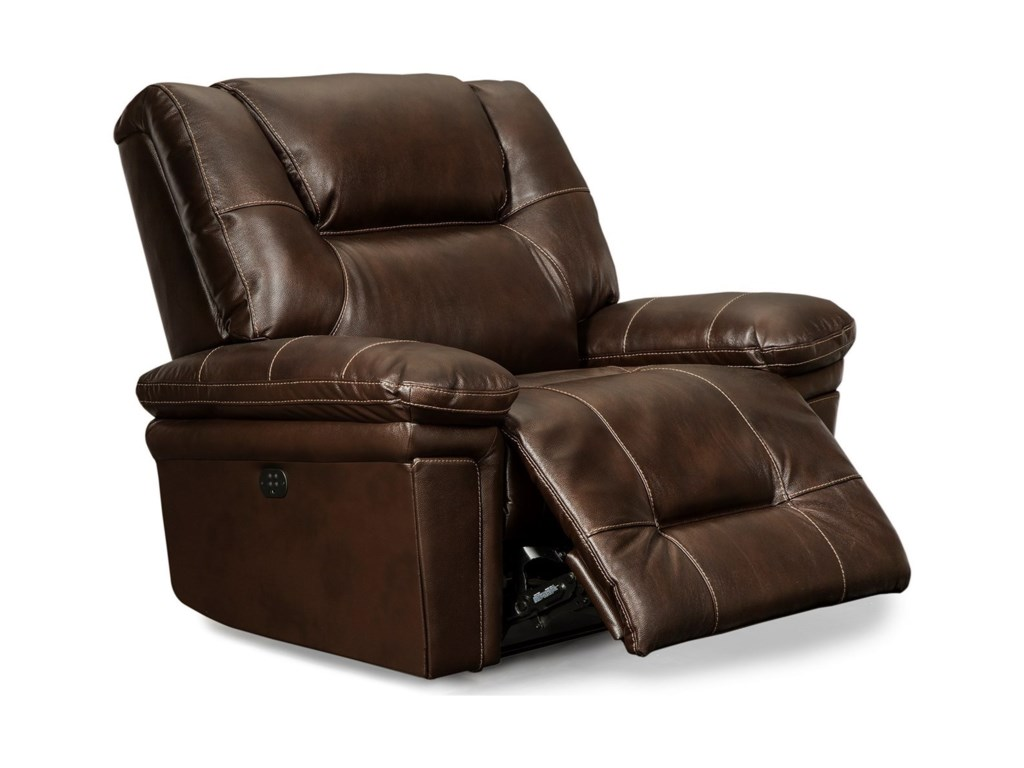 Best Home Furnishings ParkerPwr Space Saver Recliner with Pwr Headrest