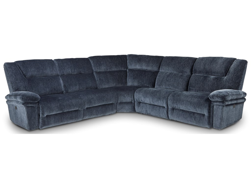 Best Home Furnishings Parker5 Pc Reclining Sectional Sofa