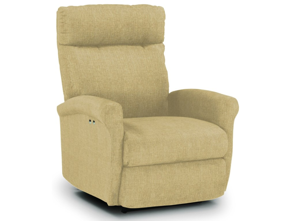 Best Home Furnishings Recliners - PetiteSwivel Glider Recliner