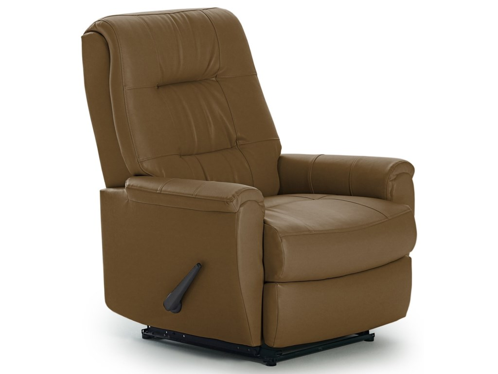 Best Home Furnishings Recliners - PetiteRocker Recliner