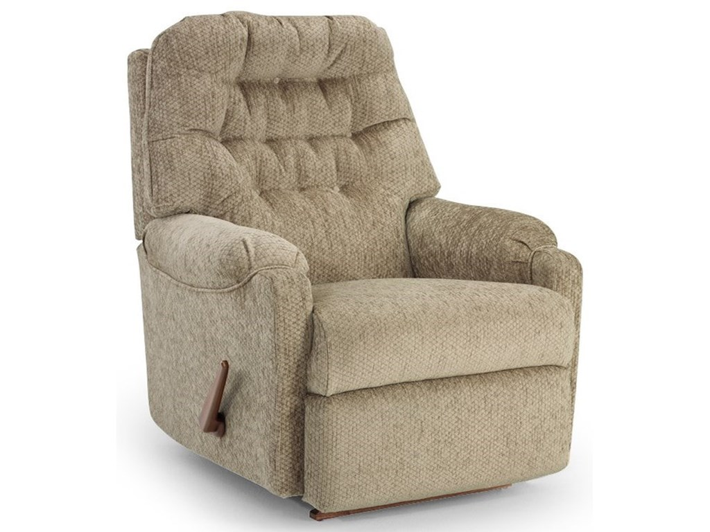 Best Home Furnishings Petite ReclinersSondra Power Rocker Recliner