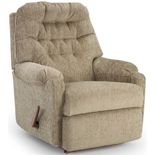 Best Home Furnishings Petite Recliners Sondra Wallhugger Recliner with Tufted Back